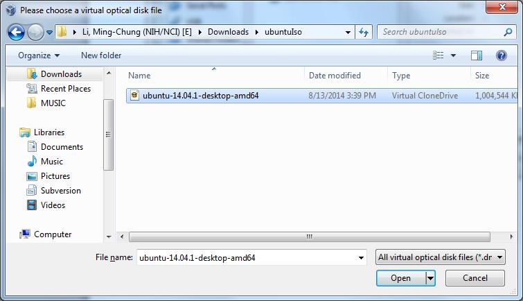 Install Ubuntu on Oracle VirtualBox