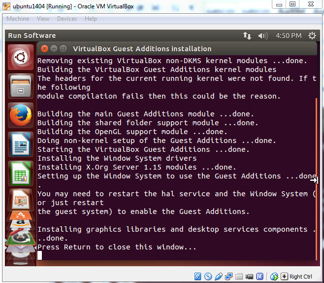 Install Ubuntu on Oracle VirtualBox
